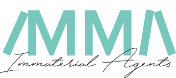 Logo: Immaterial agents